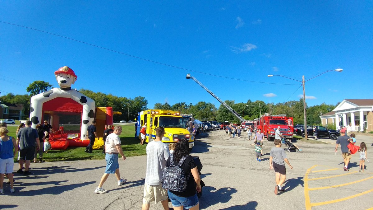 Willoughby Hills Fd On Twitter Touch A Truck Is Up And Running