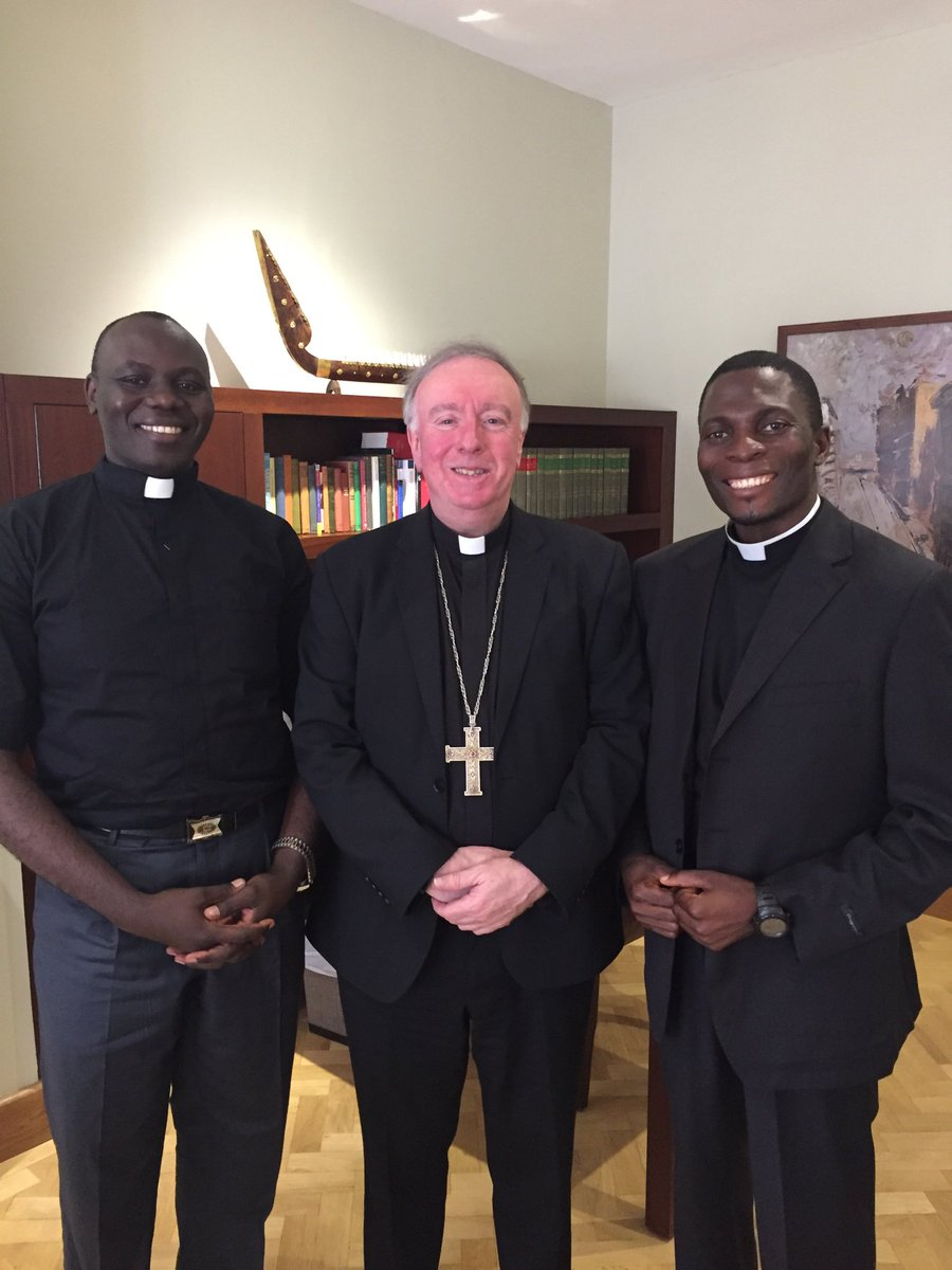 test Twitter Media - Just welcomed our two new Bamenda priests! Fr. Emmanuel (left in picture) will be at St Joseph's Basingstoke with Fr Chrisand Fr Elijah (right) at St. Edmund's Southampton with Mgr Vincent Harvey and Fr Jaya. Please pray for them. Both are doing studies at Southampton University. https://t.co/TsVjCHEKA7