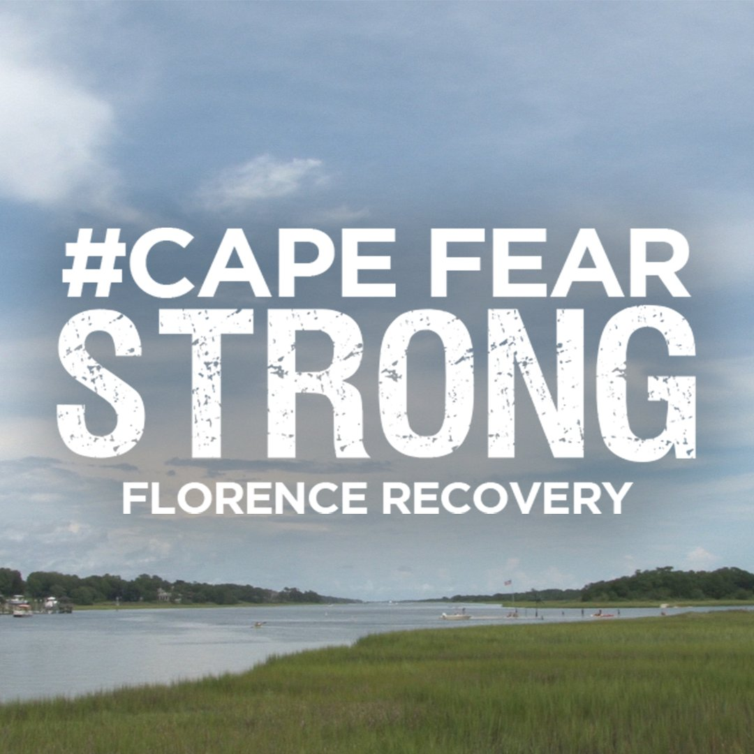 We're #CapeFearStrong Here's how you can help with recovery efforts https://t.co/iqscJMA5SC