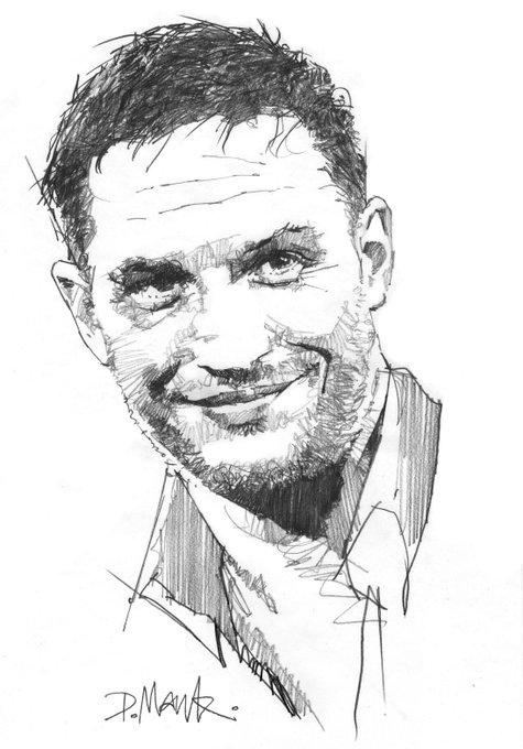 Happy Birthday Tom Hardy 41 today Some Drawings