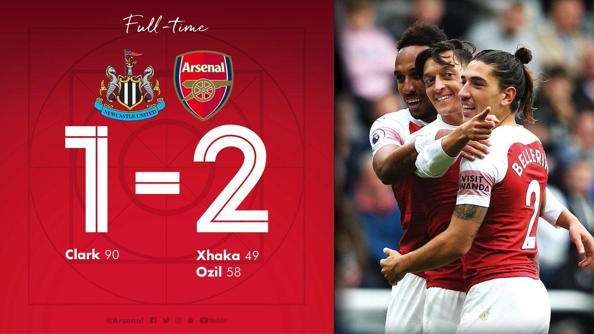 Chấm điểm kết quả Newcastle 1-2 Arsenal