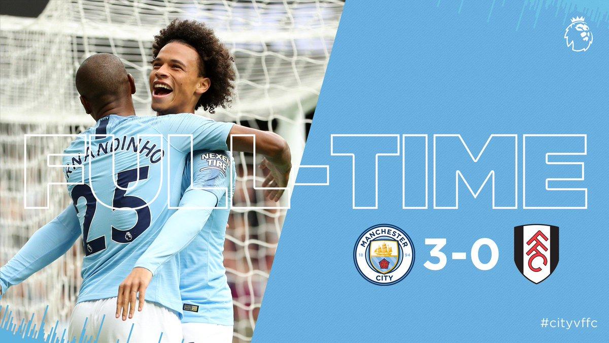 Chấm điểm kết quả Man City 3-0 Fulham