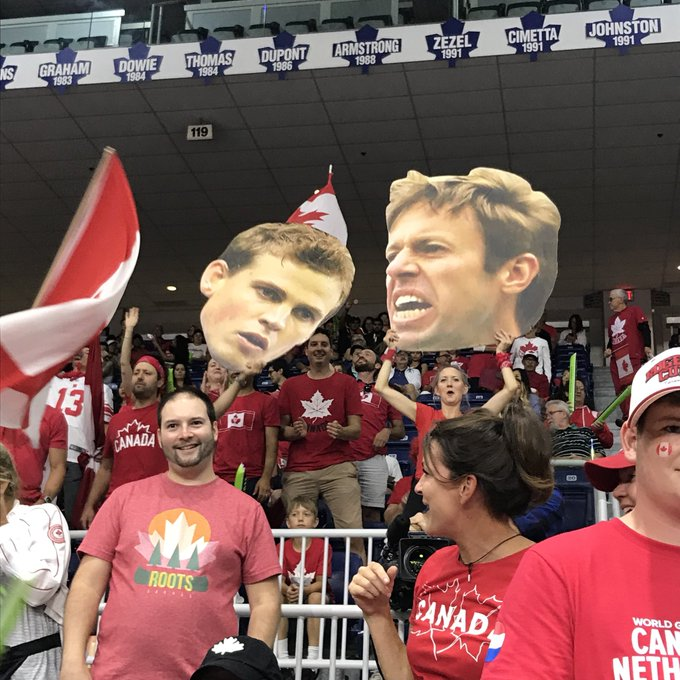 """""""Let's go Nestor! Let's go Nestor!"""" Chants have already erupted for the Canadian legend, Daniel Nestor. It's a bit surreal to say it, but his storied professional tennis career comes to a close after today's #DavisCup match. Photo"""