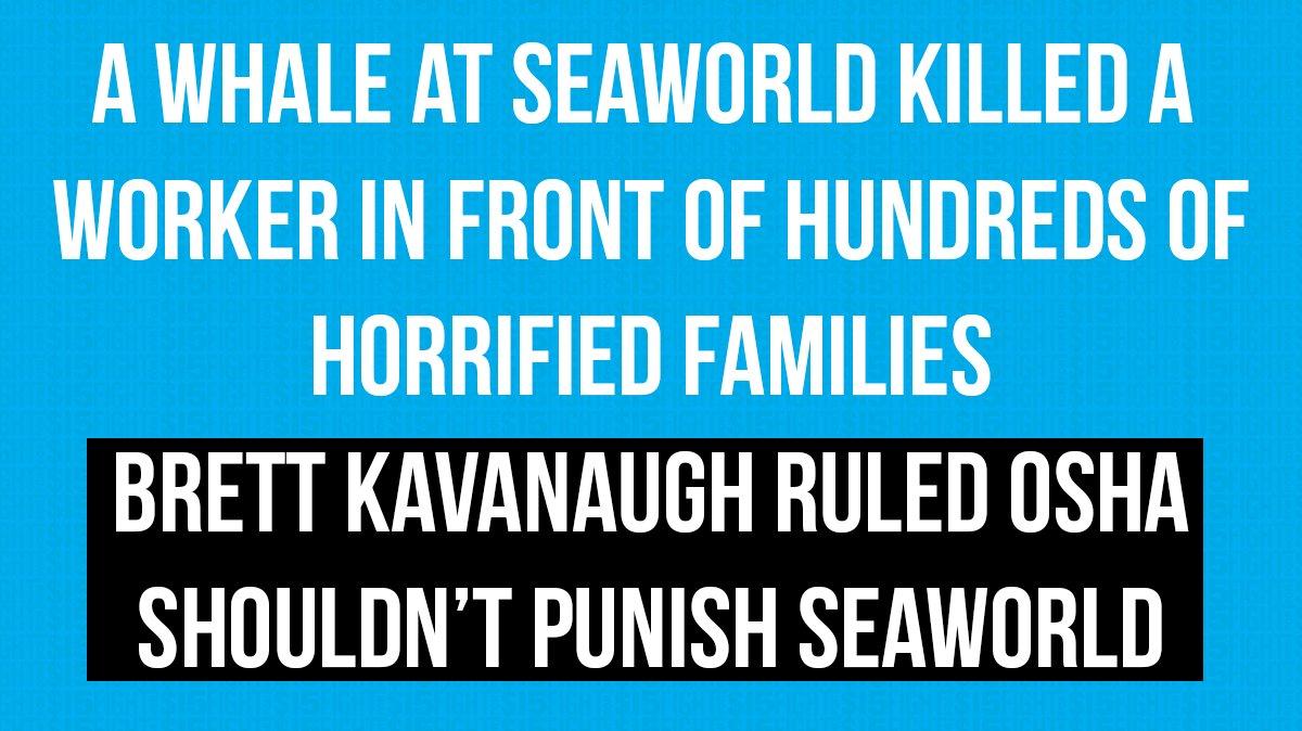Brett Kavanaugh cannot be allowed on the #SCOTUS: https://t.co/TUlfl7AoZN #FightFor15 #StopKavanaugh