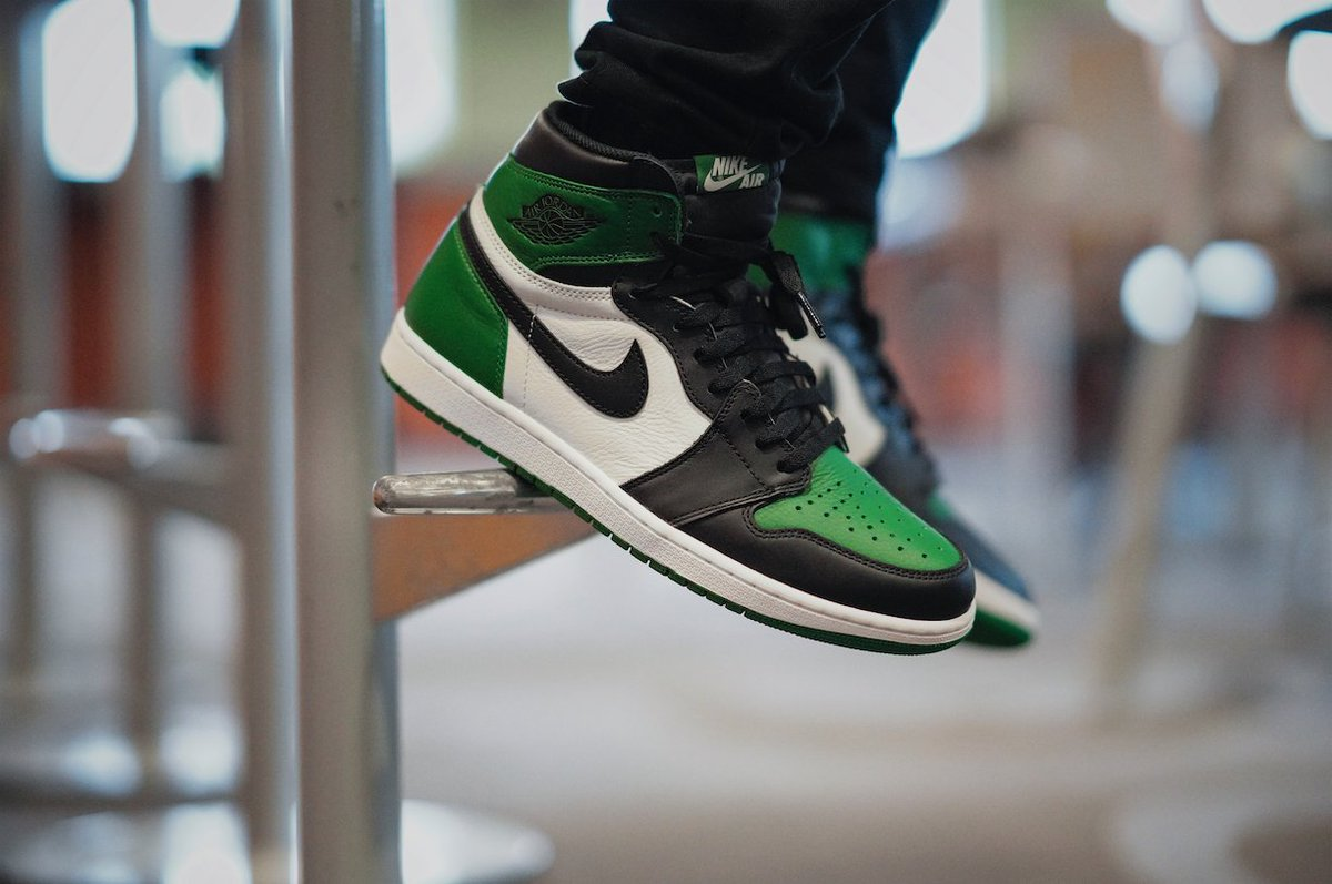 a8cfddeab532ac The  Jumpman23 Retro 1 High OG  Pine Green  Is A Must For Your Rotation.  Make Sure You Enter The Raffle For A Chance To Grab A Pair Next Saturday.  ...