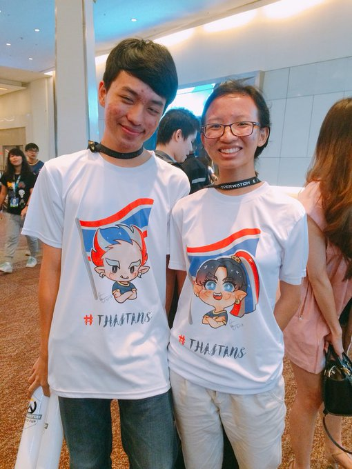 One of the cutest audience I've met 💕#thaitans #owwc2018 Photo