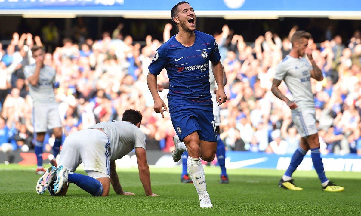 #Premier: tris #ManchesterCity, rimonta #Chelsea con super #Hazard. Alle 18.30 il #ManchesterUnited https:// www.calciomercato.com/news/premier-league-live-15909  - Ukustom