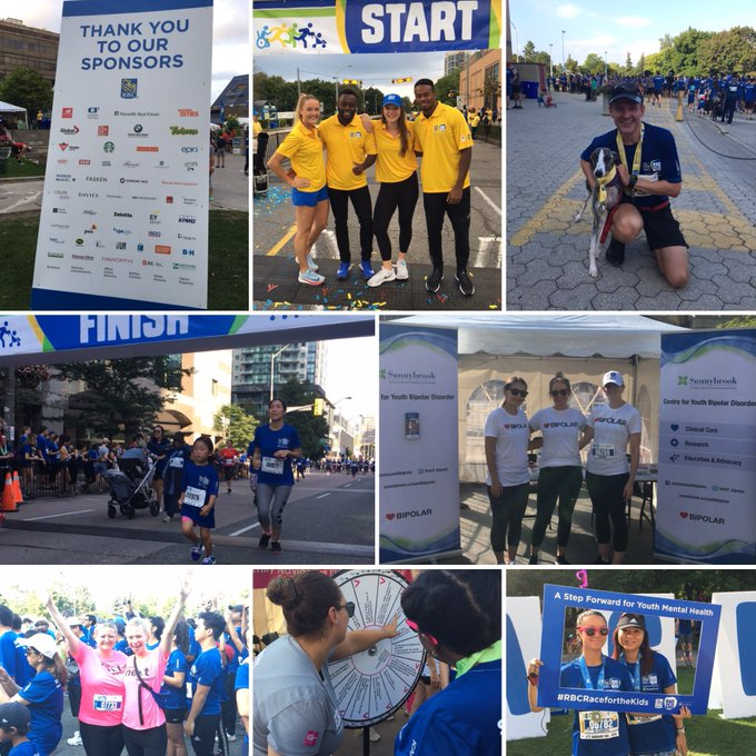 Today we made a difference for #youthmentalhealth. Thank you to our #RBCRaceForTheKids volunteers, sponsors, partners, and everyone who participated! There's still time to give. Donations received by Oct 2 count towards your fundraising incentives: Photo