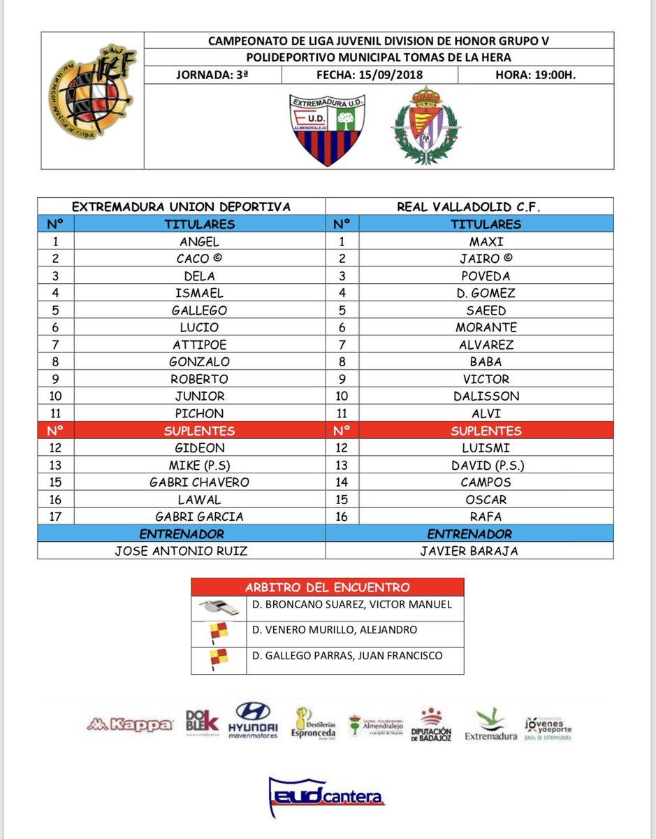 Real Valladolid Juvenil A - Temporada 2018/19 - División de Honor  - Página 4 DnJfKl0WsAIgcZP