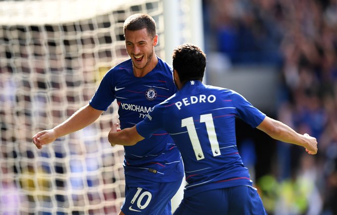 MD5 Chelsea 4:1 Cardiff Bamba Hazard Hazard Hazard (p) Willian #CFC #EPL Foto