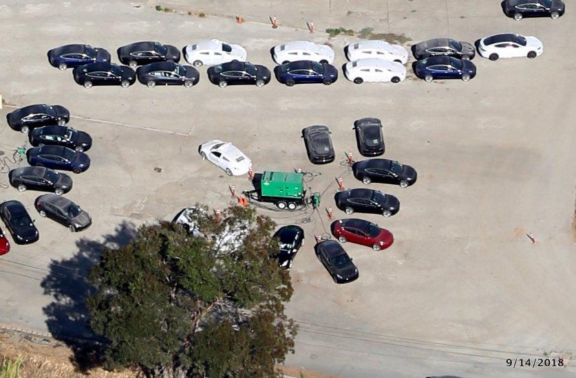 orgy at the car lot