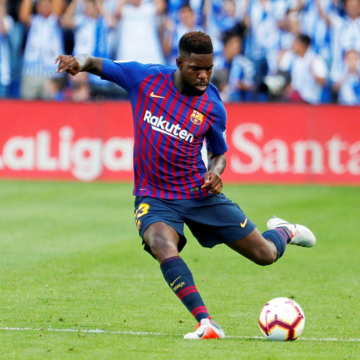 😏 Awesome start in @LaLigaEN 🙌 ✅#BarçaAlaves ✅#ValladolidBarça ✅#BarçaHuesca ✅#RealSociedadBarça 🔜 @ChampionsLeague