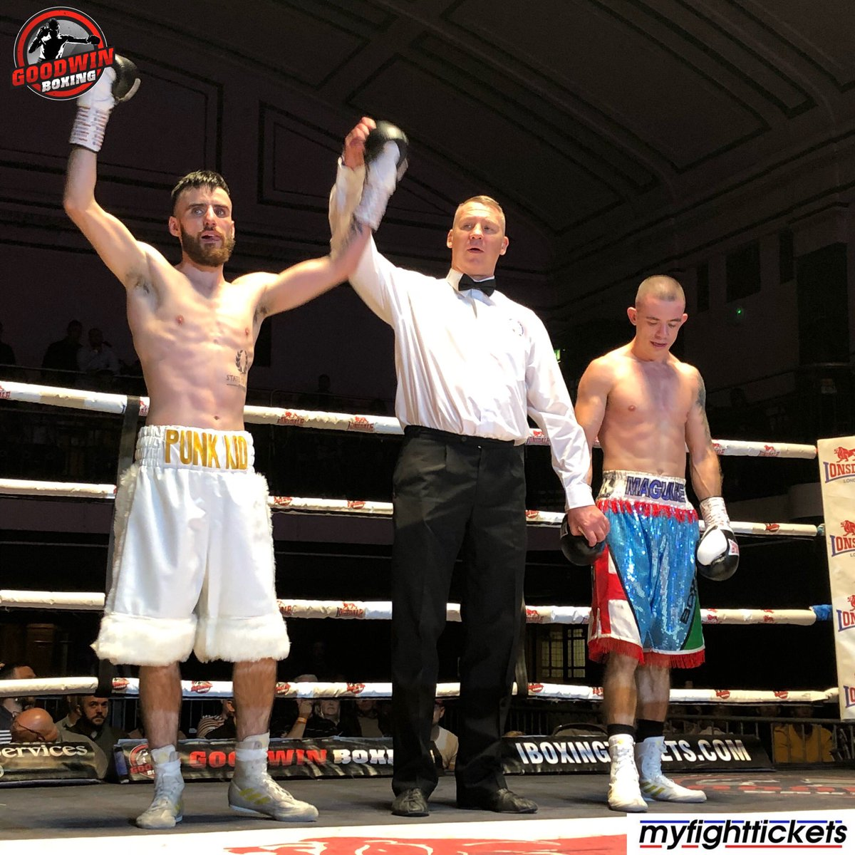 Goodwin Boxing's photo on Maguire