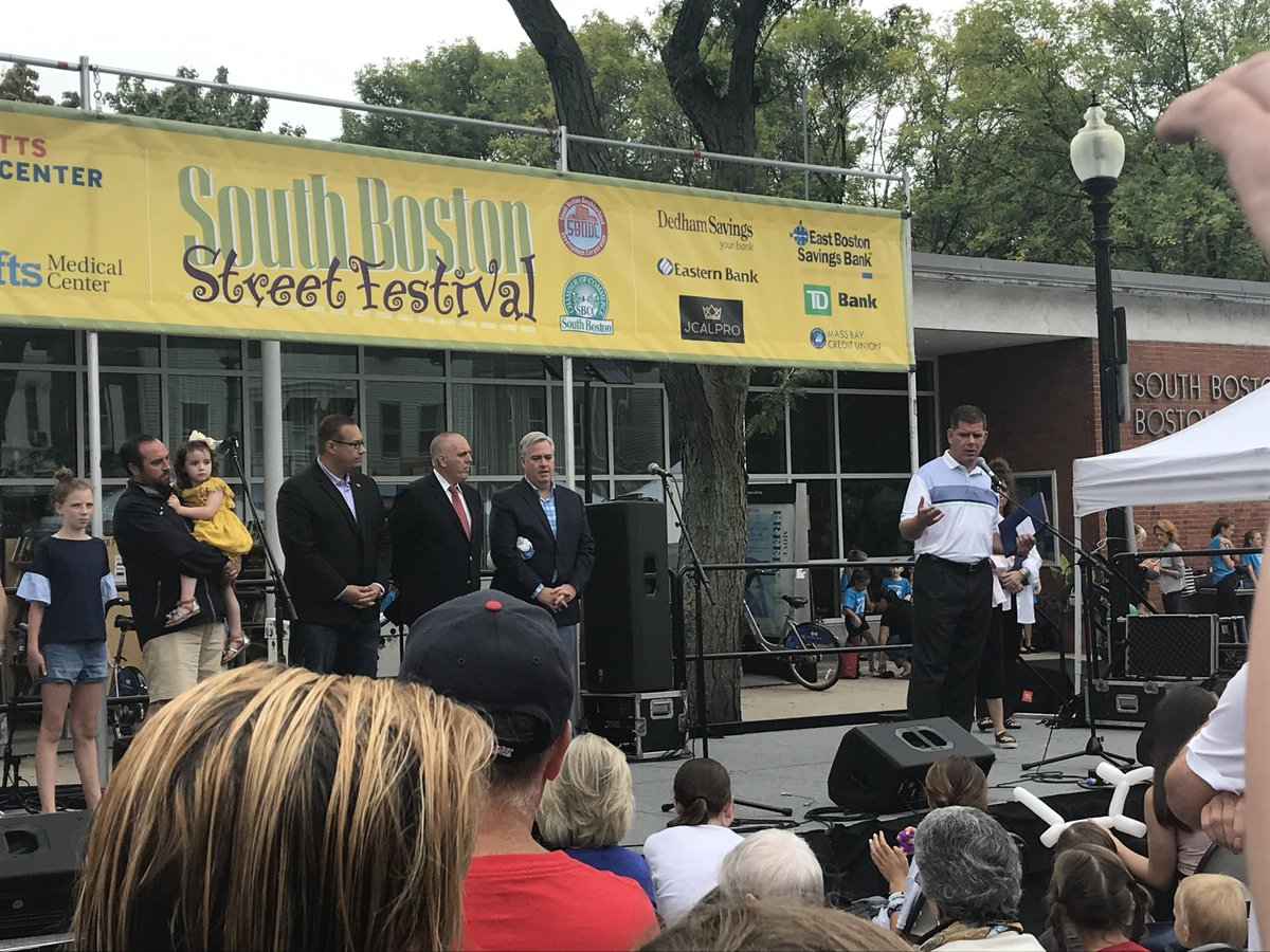 Mayor Marty Walsh On Twitter Thanks South Boston Chamber Of