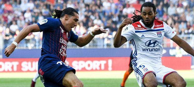 The 🦁 roars back late @SMCaen 🇫🇷⚽️ #Ligue1Conforama #SMCOL @OL_English Photo