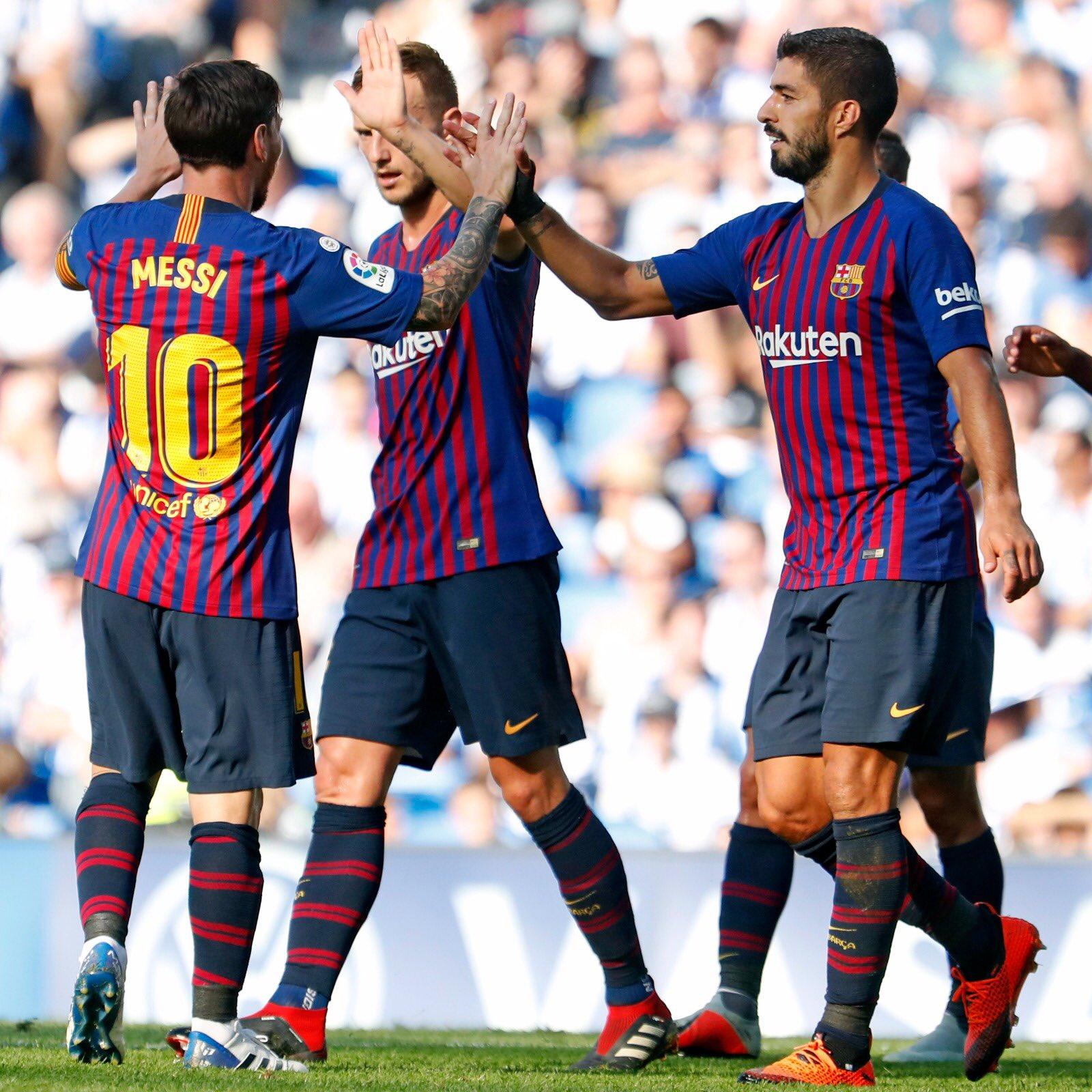 صور مباراة : ريال سوسيداد - برشلونة 1-2 ( 15-09-2018 ) DnJtWZpUcAABE9i