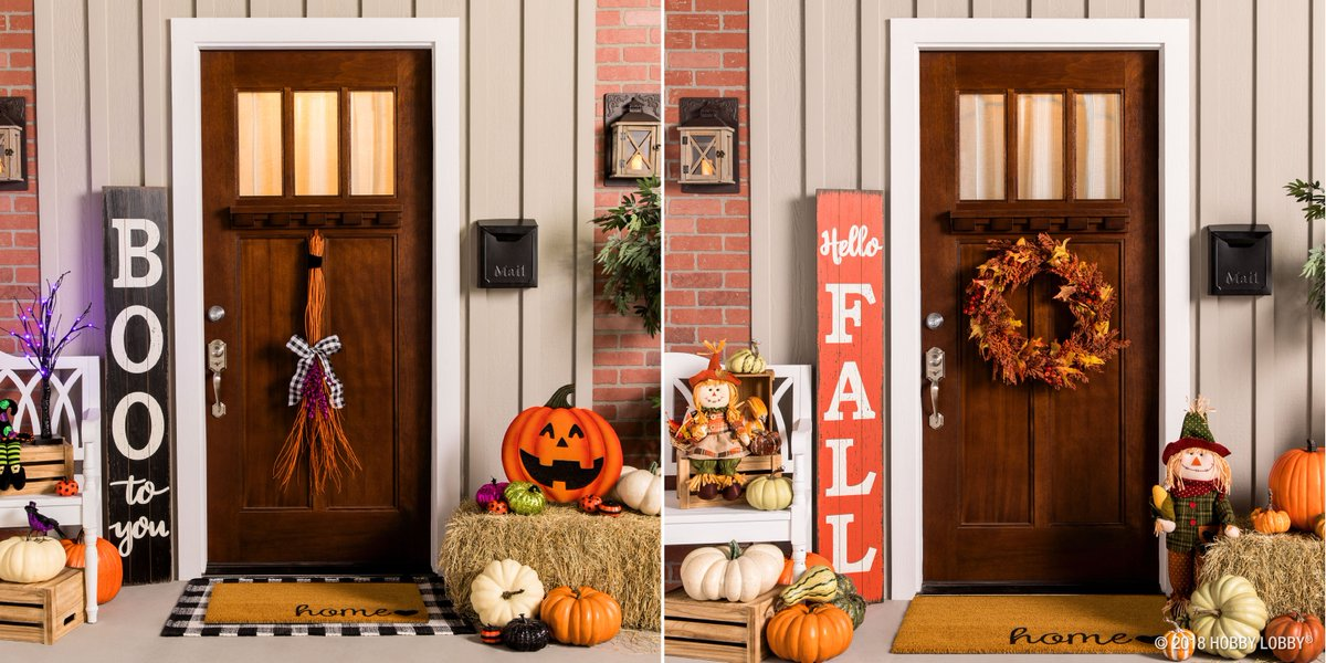 Hobby Lobby Halloween Decorations 2019.Official Hobby Lobby On Twitter Easily Transition Your