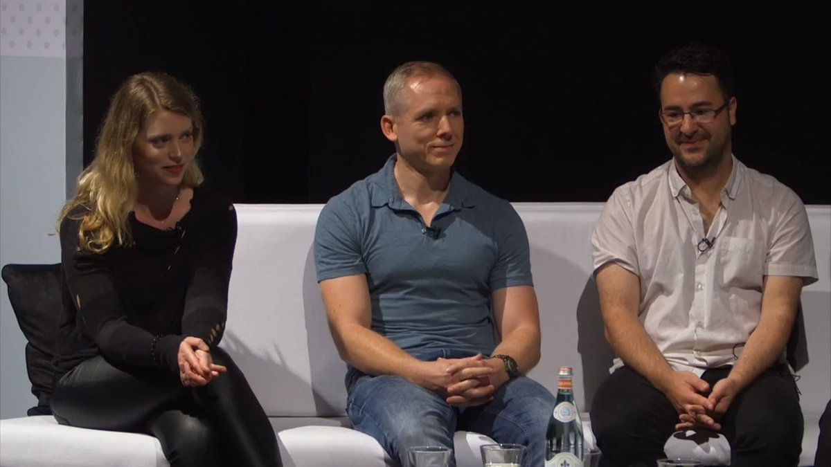 The @NinjaTheory team at last year's #GuruLive London, talking about the emotions of finishing #Hellblade😥 Come to this year's Guru Live for more amazing and insightful Games Masterclasses and hear from some of the best in the industry 🎟️👉 http://guru.bafta.org/guru-live-london…
