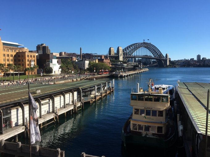 Sydney at its best!!! Have a great time all you wonderful walkers joggers and runners @AthsAust #SydneyRunningFestival #lovetorun 🏃🏼‍♀️ 🏃‍♂️ Photo