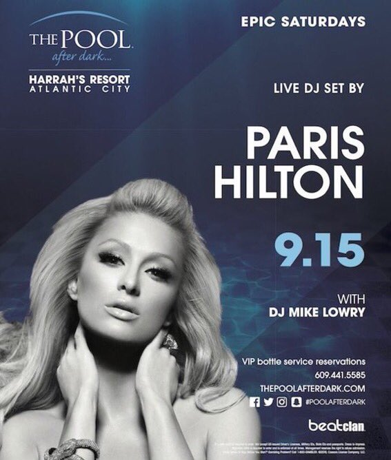 Hey #AtlanticCity ⚡️See you all Tonight at The @PoolAfterDark for my show! �������� https://t.co/oCFwVAjcZX