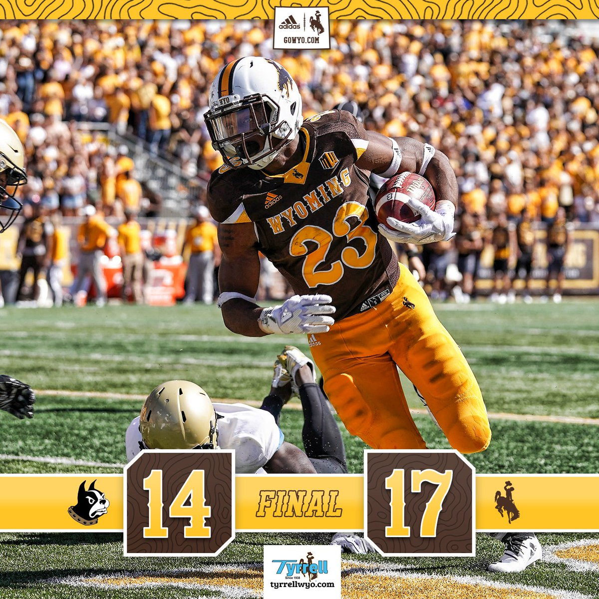 """wyoming cowboy football on twitter: """"never. quit"""