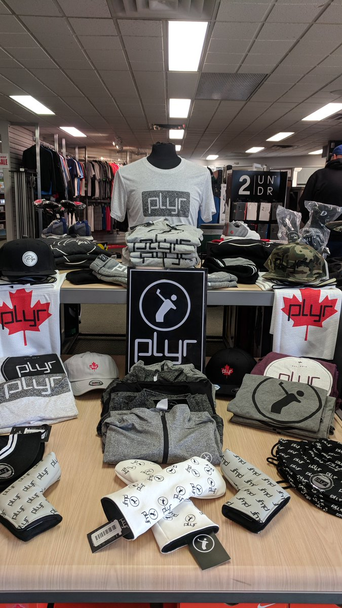 ce572f8f5576 ALERT! We just received a new shipment of Saskatoon s very own   PLYRGolfapparel. Everything from towels