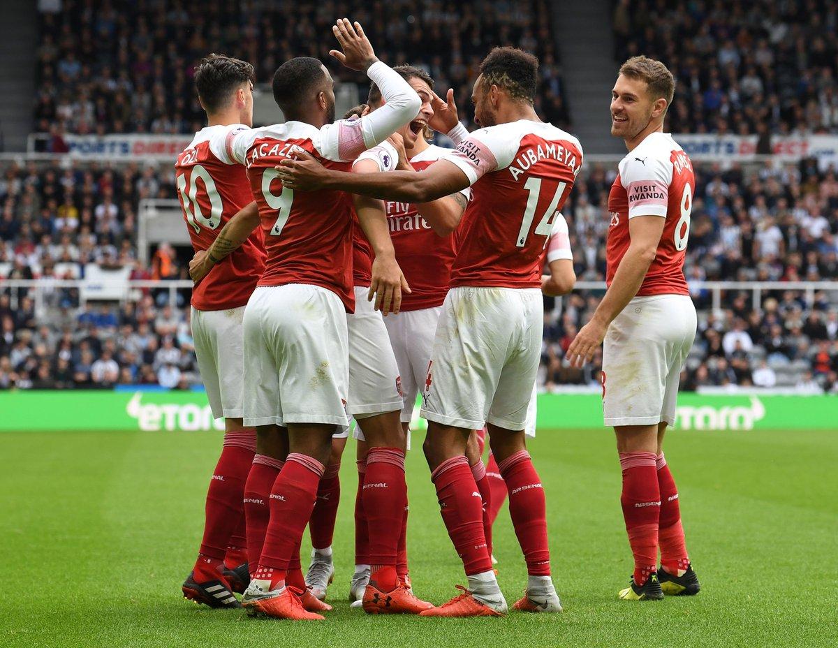 Newcastle 1-2 Arsenal: Khác biệt từ siêu phẩm