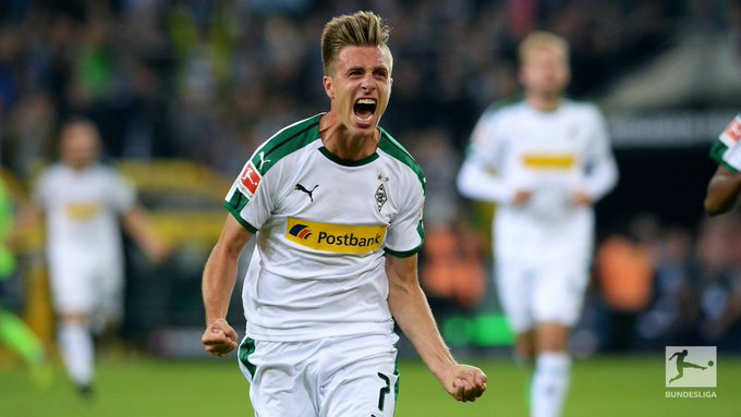 18 goalless months of frustration, released in one euphoric celebration 😄 #BMGS04 Foto