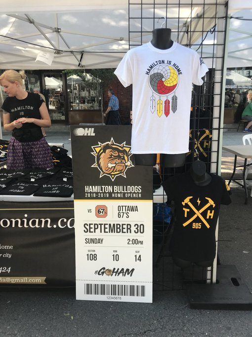 At @supercrawl today!? First 3 people to find our big ticket at the True Hamiltonian tent will win tickets to the Home Opener on Sept 30th! #GoHAM Photo