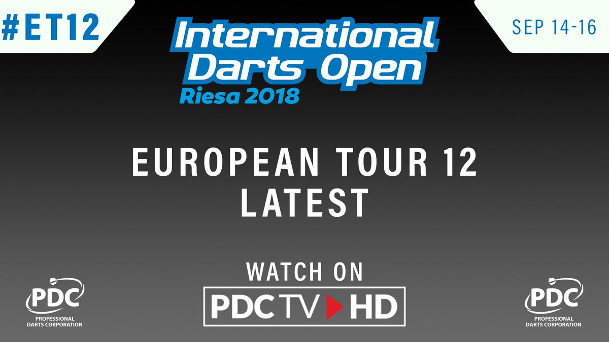 UP NEXT   Number two seed Mensur Suljovic begins his quest for a second Euro Tour title of the year. Mensur Suljovic v Ryan Joyce 📺 Watch #ET12 on PDCTV-HD ▶️ Results & streaming info: pdc.tv/node/7735