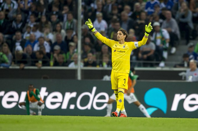 Introducing your Man of the Match, the safe hands of @YannSommer1! 🙌 #DieFohlen #BMGS04 Foto