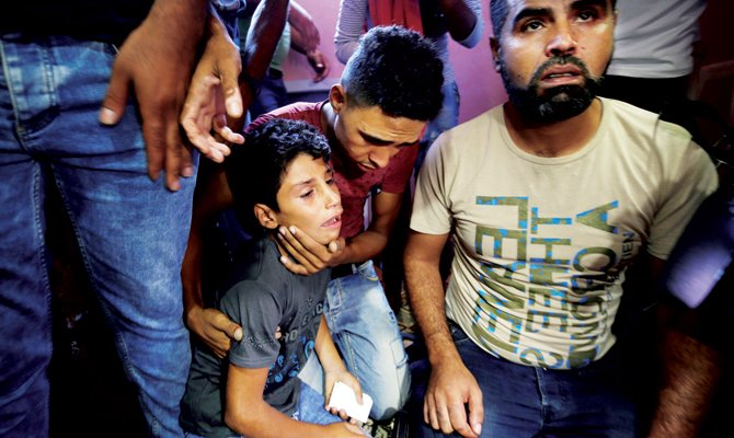 Tension mounts over 11-year-old #Gaza boy's killing at border rally https://t.co/PpSecyrO8f