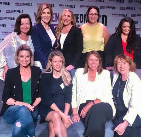 We @wimqld volunteers want to thank all the sponsors, speakers, and delegates who made #wimconf18 so unforgettable. Special thanks to @cathwebber whose vision, drive, generosity, and seemingly endless energy made it all happen. 🙌 Photo