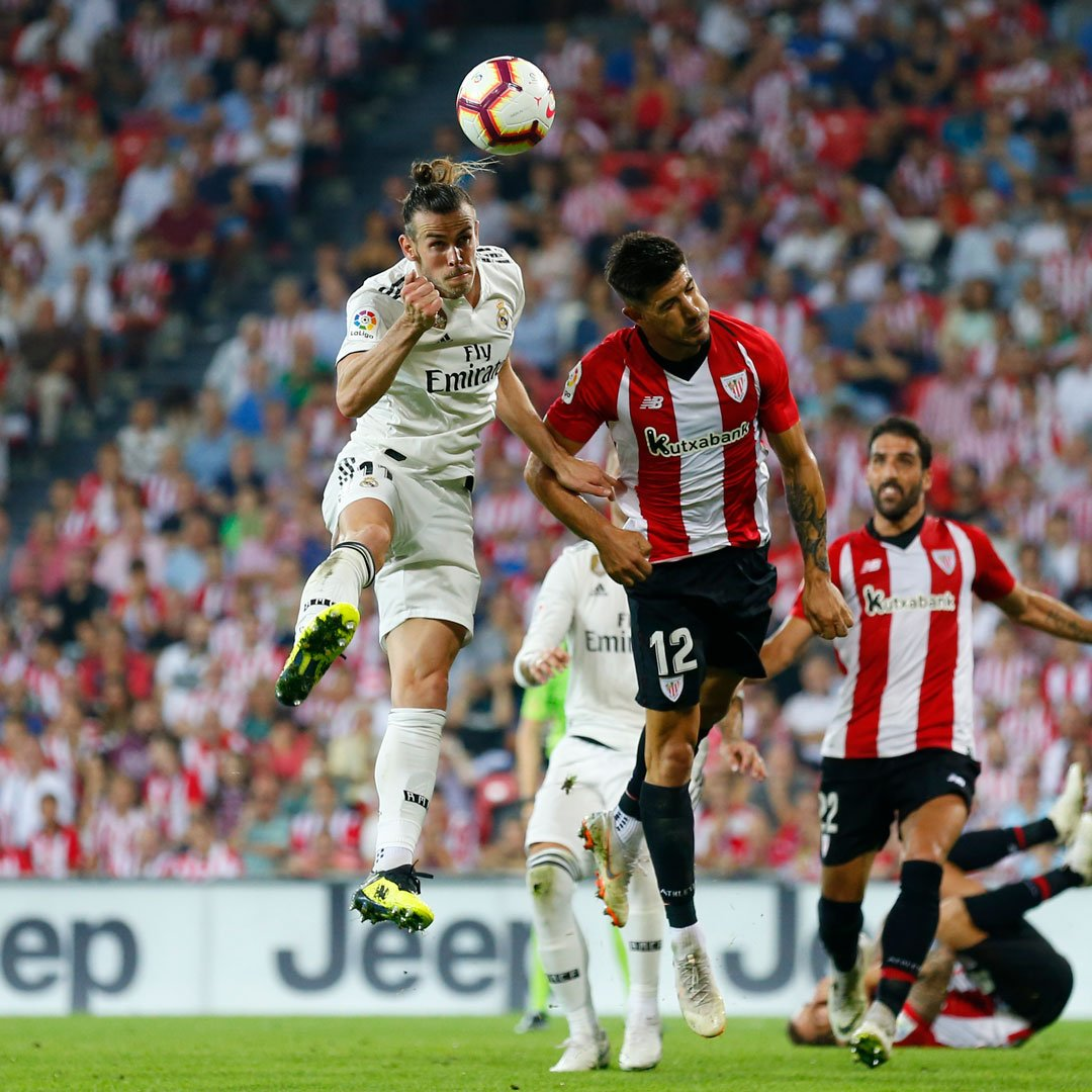Athletic Bilbao 1-1 Real Madrid Highlights and Goals Video
