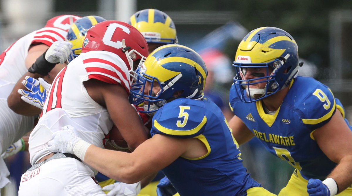 Delaware hands Cornell loss in opener