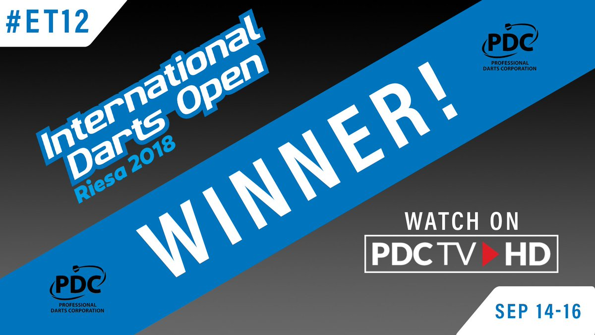 WINNER   A clinical display from @Superchin180 who is safely through to the final day of action. Daryl Gurney 6-2 Robert Marijanovic 📺 Watch #ET12 on PDCTV-HD ▶️ Results & streaming info: pdc.tv/node/7735