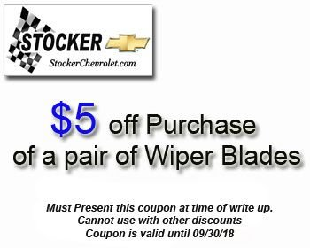 ... Friends At Stocker Chevrolet. Coupon Valid Until 09/30/2018. Check Out  The Other Service Specials On Our Website: Http://bit.ly/2M8tFEn  Pic.twitter.com/ ...