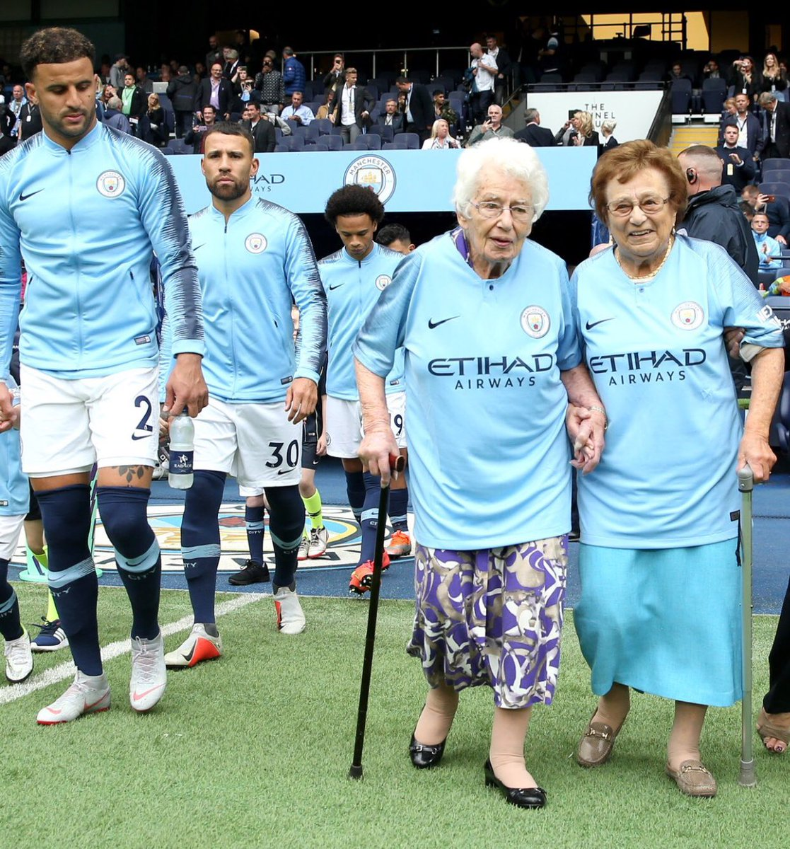 Kyle Walker hasnt seen anyone so reliant on a cane since England at the World Cup.