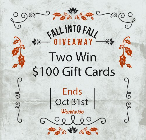 New #Giveaway Alert! Two will Win $100 Visa Gift Cards or Paypal! Open Worldwide - Ends October 31st. Click here to enter daily >> buff.ly/2CZ5s2U #wincash #wingiftcards #sweepstakes @GooseGiveaways @ClockwisePublis