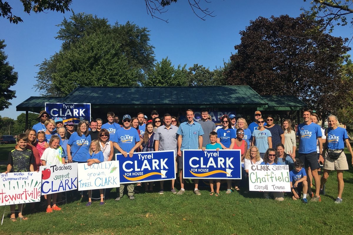We had an amazing turn out today for our Campaign Rally and Door Knock with @kenmartin73 ! Thank you to everyone for taking time out of your busy day and for door knocking to support our campaign for MN HD 26B #TakesActionGetsResults