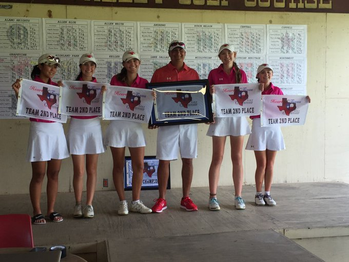An amazing finish for our ladies. We were down 16 shots after 36 holes. A torrid school record pace the final 36 holes moved the team to finish 2 shots out of 1st. The ladies set records for 18, 36 and 54 holes this weekend. Gabi 76 69 70 took 3rd individually. Congrats ladies! Photo
