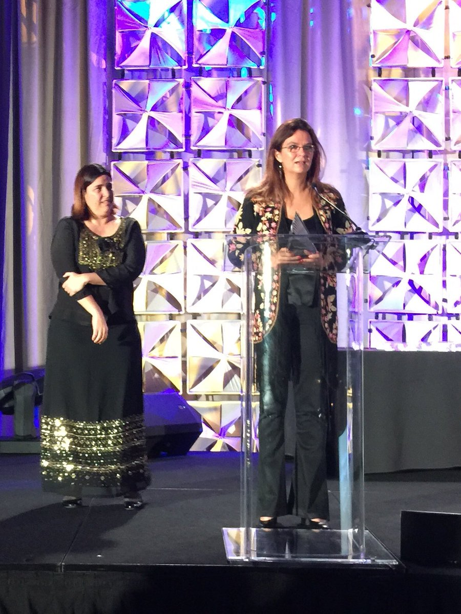 Congratulations to La Nación from Argentina for another Online Journalism Award, this time in the category of excellence in audio digital storytelling (medium/ large newsroom) at #OJA18. @momiperalta and @fcoel received the award on behalf of the amazing team.<br>http://pic.twitter.com/IBpM0yXJHX