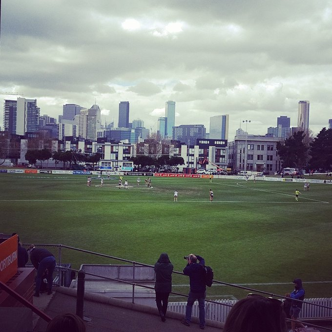 Glad I came down to watch the mighty @GeelongVFLW play against Collingwood, great game! Photo