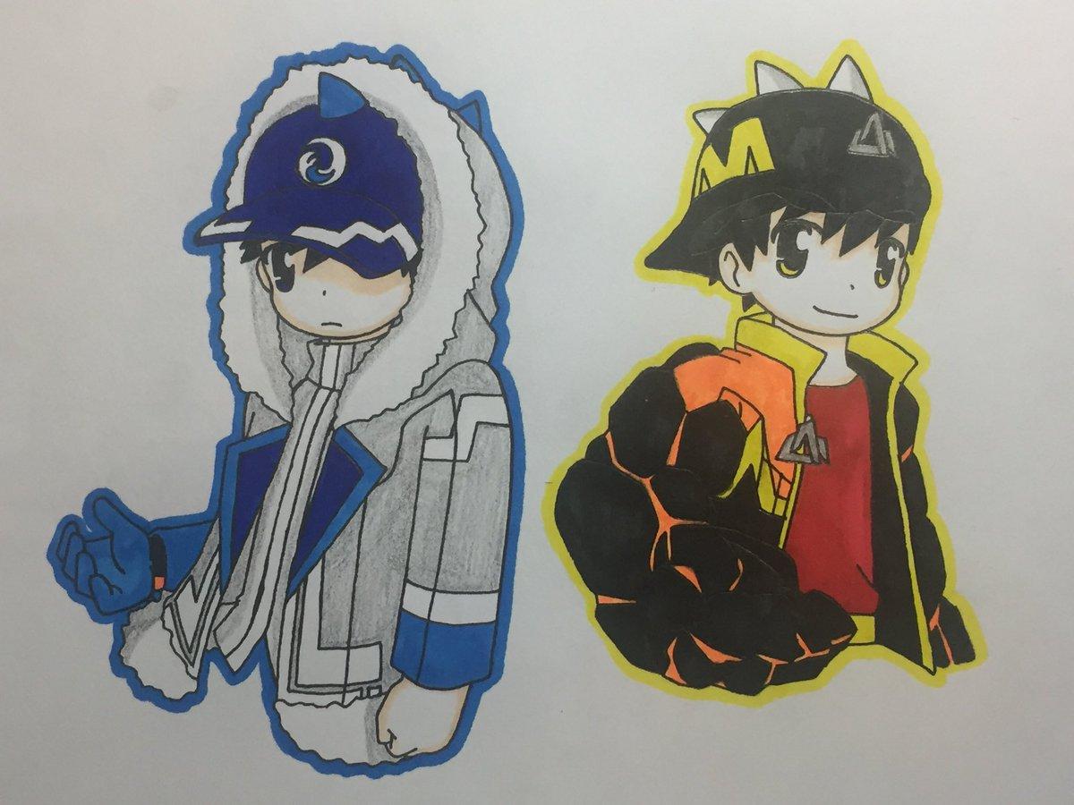バカとテストとムゲフロ On Twitter I Want To Draw Ice Blaze But