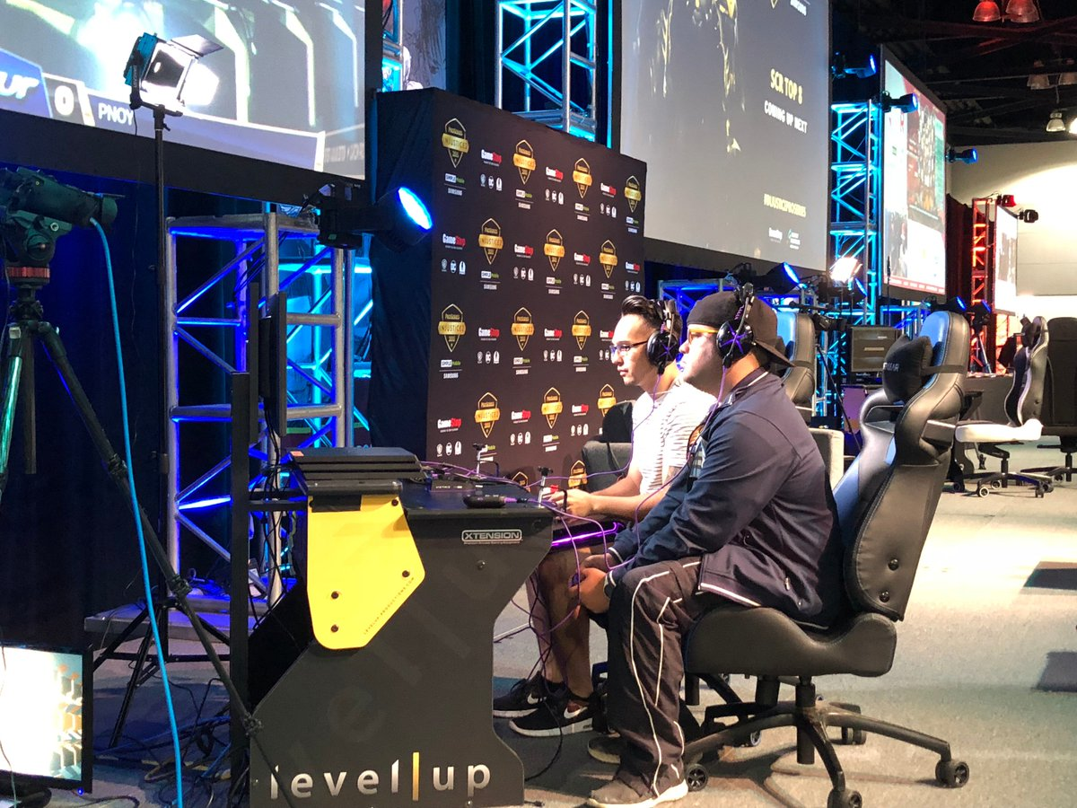 Day-2 of #SCR2018 underway! Get in here if youre in SoCal and lay your hands on our products at the Victrix booth. Arent those the testers from couple days ago on the main stage? Small world. 🤓