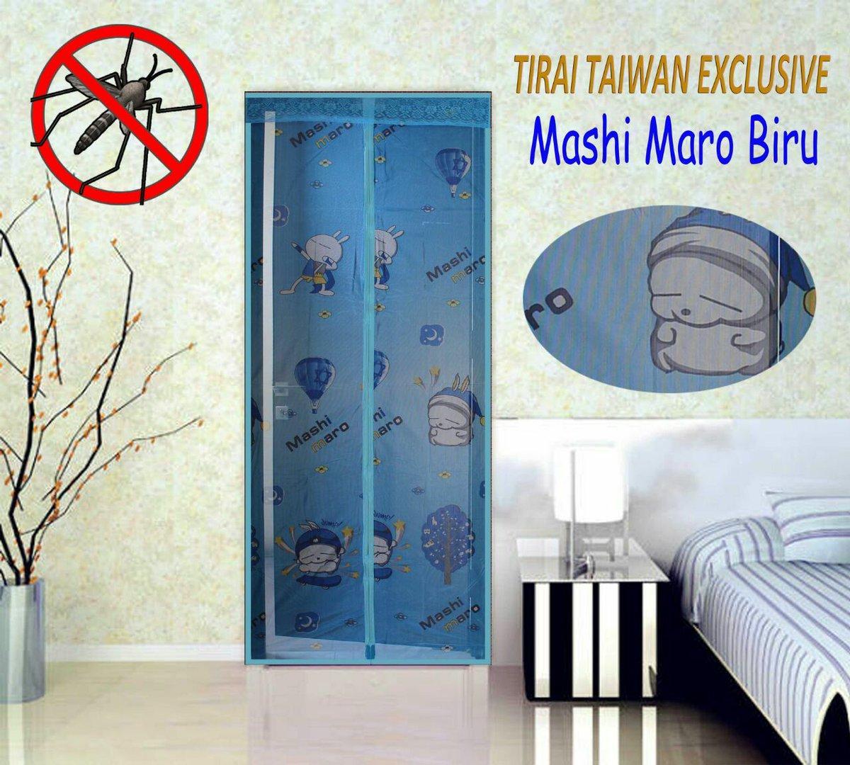 Tirai Anti Nyamuk Magnetik Yogyakarta Tirai yang dilengkapi magnet sehingga setelah dilewati tirai menyatu dengan segera sebelum nyamuk ikut masuk kamar ...