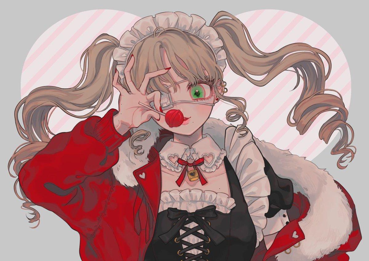 "Violett On Twitter: ""Lollipop 🍭🌸 #kawaii #anime #aesthetic"