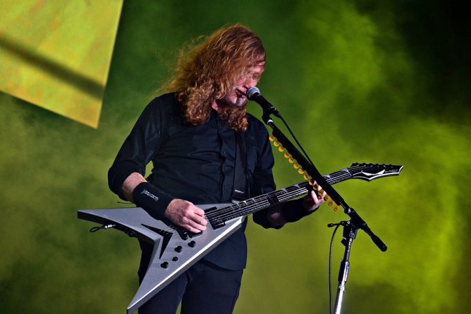Happy 57th birthday Dave Mustaine of Megadeth!