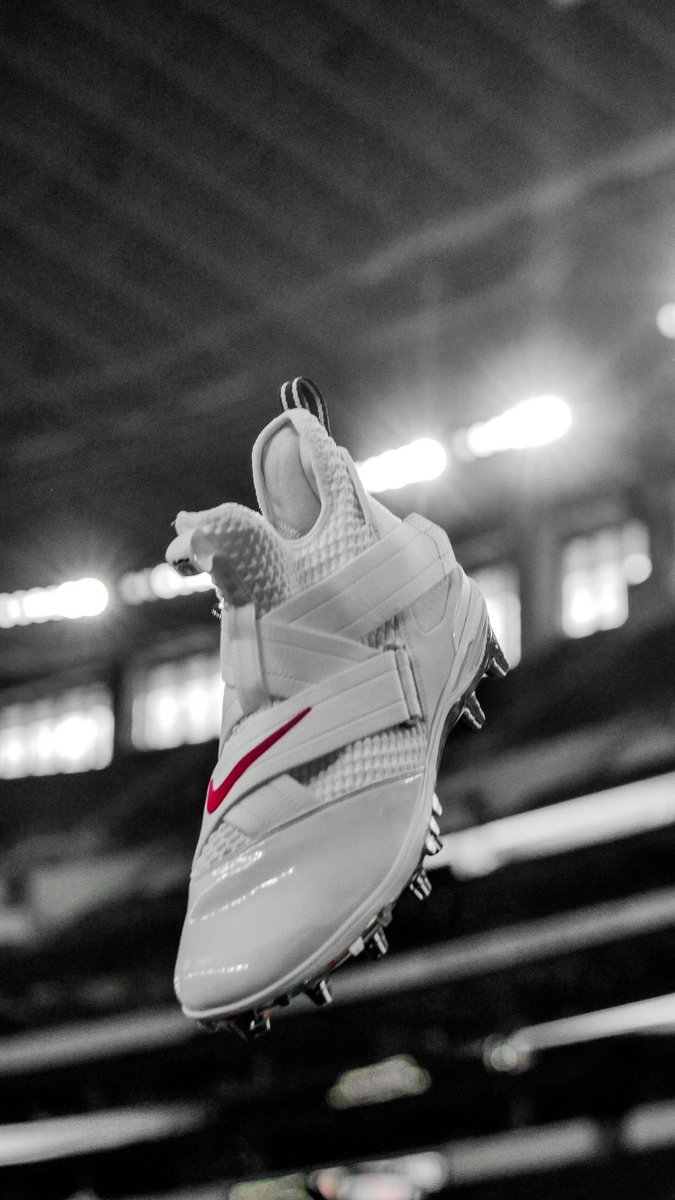 c2cfd6cf954c2 Ohio State's LeBron Soldier XII cleats for tonight | Scoopnest
