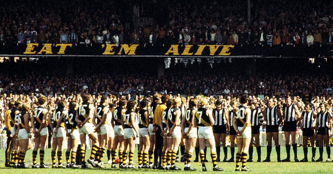⏪A flashback to our last preliminary final meeting against Collingwood on September 22, 1973 - Photo